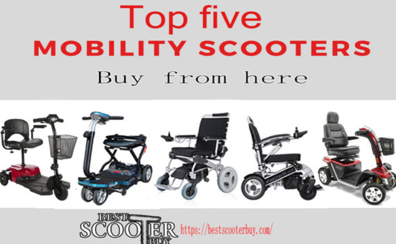 The 5 Best Mobility Scooter for all ages people (Guide & Reviews) | Bestscooterbuy