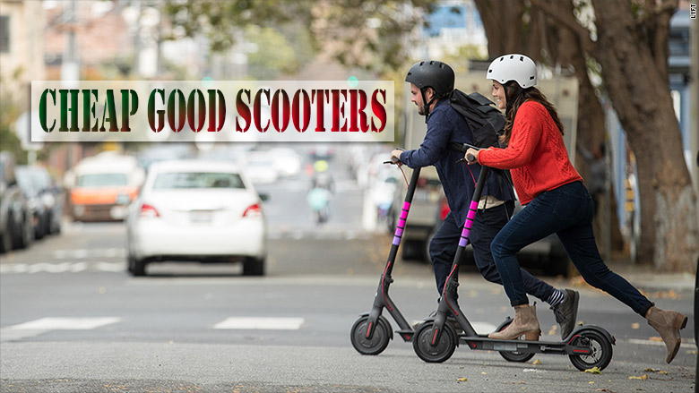 Cheap Good Scooters Will Able To Create Your Happy Moment