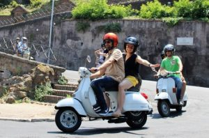 rome by vintage vespa 300x198 - gas scooters for sale | What you're about to open on a gas scooter can be found here
